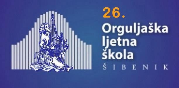 Program i prijavnica za 26. Orguljašku ljetnu školu u Šibeniku (2019.)
